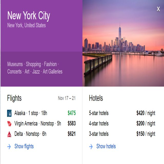 google flights to new york city